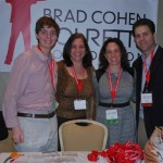 Brad Cohen and volunteers