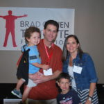 Brad and family