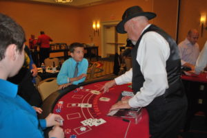 Kids winning big at blackjack
